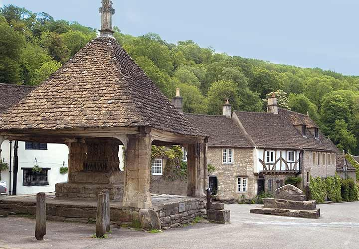 The Market Cross in Castle Combe